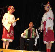 Cossack music and dance Trio